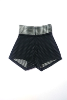 Body Wrappers Dots & Stripes Reversible Shorts