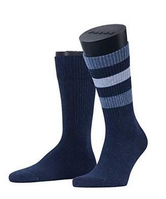 Esprit Men's Colour Block Rib 2-Pack Socks,(Size:39-42) (pack of 2)
