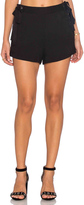 Endless Rose Woven Lace Up Short