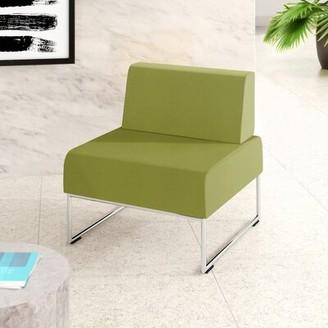 "Upper Squareâ""¢ Sampson Lounge Chair Upper Squarea Seat Color: Camira Blazer Byranston"