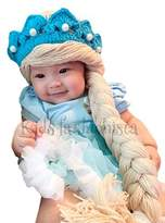 Justkiddings Elsa Frozen disney costume hat wig hair tiara baby girl