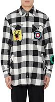 J.W.Anderson Men's Patchwork Buffalo-Checked Cotton Shirt