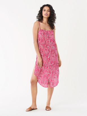 Diane von Furstenberg Flora Cotton Beach Dress
