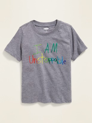 Old Navy Limited Edition Boys' & Girls' Clubs Collection Graphic Tee for Toddler Boys