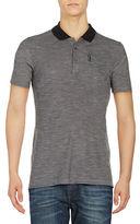 Ben Sherman Slub Knit Polo Shirt