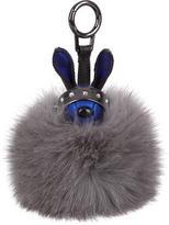 MCM Fox Fur Bag Charm