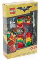 Lego Infant Batman Movie Robin(TM) Minifigure Link Watch