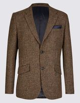 Marks and Spencer Pure Wool Regualr Fit Harris Tweed Jacket