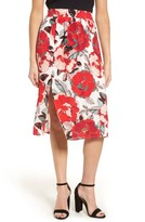 Cupcakes And Cashmere Women's Linden Floral Skirt