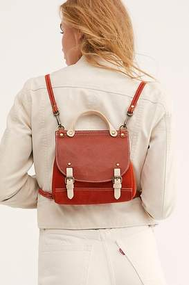 Free People Molly Mini Leather Backpack