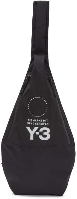 Y-3 Y 3 Black Yohji MSGR Bag