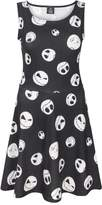 Disney Nightmare Before Christmas Jack Expressions Women's Dress (L)