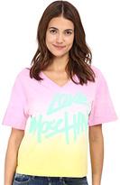 Love Moschino I Love Color Block T-Shirt Women's T Shirt