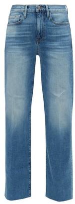 Frame Le California Wide-leg Jeans - Womens - Light Denim