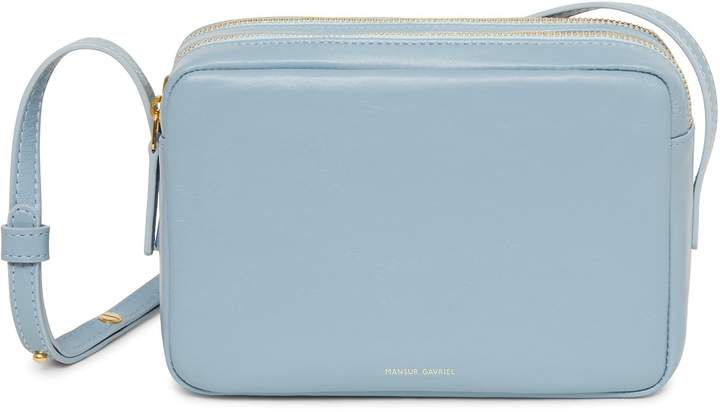 Mansur Gavriel Lamb Double Zip Crossbody