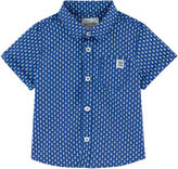 Jean Bourget Printed poplin shirt