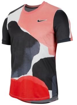 Nike Men's Court Challenger Printed Tennis Top