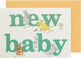 Cath Kidston Animal Alphabet Greetings Card
