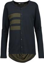 Y-3 + adidas striped stretch cotton-blend sweater