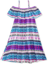 Epic Threads Wear Me 3 Ways Peasant Print Dress, Big Girls (7-16), Created for Macy's