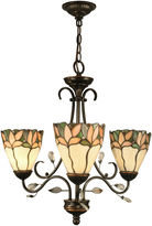 Dale Tiffany Dale TiffanyTM Crystal Leaf 3-Light Hanging Fixture