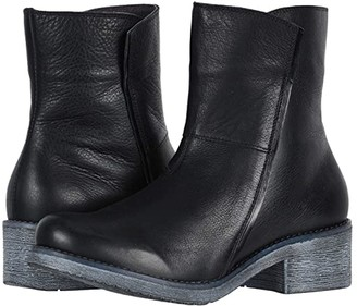 Naot Footwear Hipster (Soft Black Leather/Black Madras Leather) Women's Boots