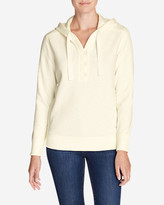 Eddie Bauer Women's Brushed Fleece Hooded Pullover