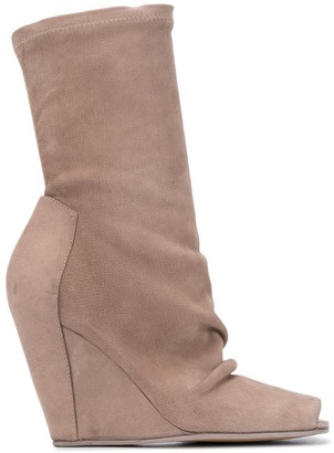 Rick Owens Wedge Boot Sandals