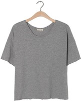 American Vintage Sonoma Short Sleeve Grey T Shirt - Small