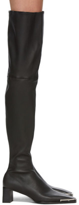 Alexander Wang Black Over-The-Knee Mascha Tall Boots