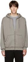 Alexander Wang Grey Oversized Hoodie