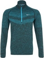 Nike Men's Dri-Fit Knit Half-Zip Running Top, /Black