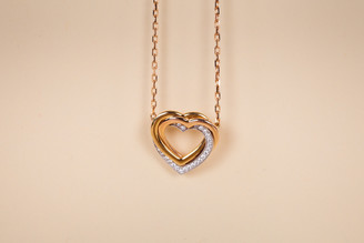 Cartier Trinity Diamond Heart Necklace