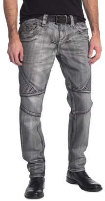 Rock Revival Metallic Moto Jeans