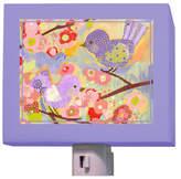 Oopsy Daisy Fine Art For Kids Cherry Blossom Birdies Night Light