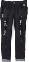Dollhouse Black Wash Super Stretch Jeans - Girls