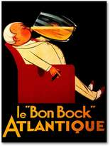 KitchenArt Le Bon Bock Atlantique Canvas Wall Art