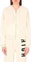 Wildfox Couture High cotton-blend hoody
