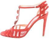 Sergio Rossi Suede Multistrap Sandals