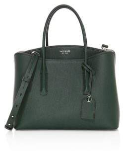 Kate Spade Medium Margaux Leather Satchel