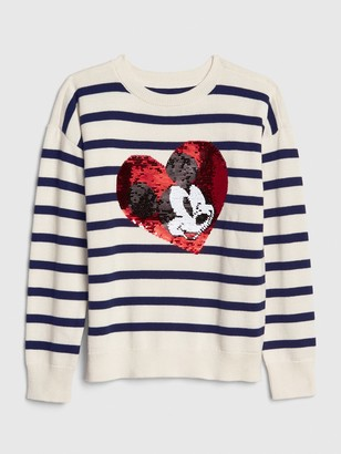 Gap GapKids | Disney Mickey Mouse Flippy Sequin Sweater