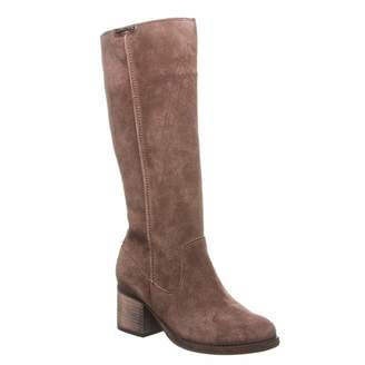 BearPaw Women's Anthracite High Boots
