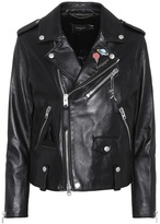 Coach Space Moto leather jacket