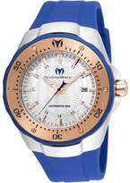 Technomarine Men's Manta 48mm Blue Silicone Band Automatic Watch Tm-215091
