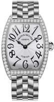 Franck Muller Ladies Curvex Stainless Steel Diamond Watch