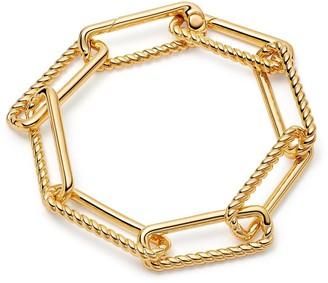 Missoma Gold Chunky Half Radial Chain Bracelet