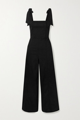 Alice + Olivia Kinley Denim Jumpsuit