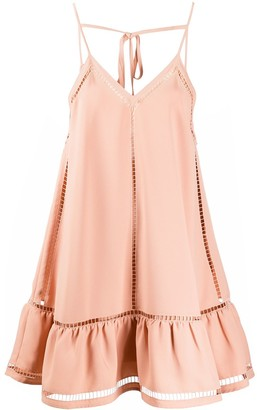 RED Valentino Cutout Short Dress