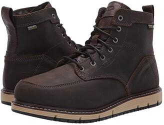 Keen 6 San Jose Aluminum Toe WP (Cascade Brown/Black) Men's Work Boots