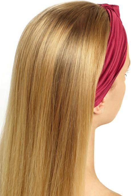 Eugenia Kim Chiara silk-jersey turban headband